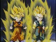Trunks & Goten Super Saiyan