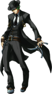 Hazama (Continuum Shift, Character Select Artwork, Alternate)