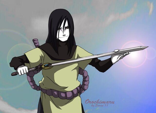 File:Orochimaru with snake sword by sarangheorochimaru-d3efj1z.jpg