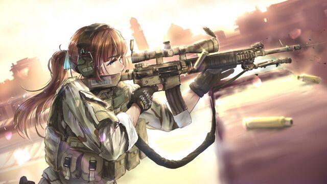 File:Girl bullets soldiers anime headphones equipment 105960 1920x1080.jpg