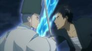 Yamamoto fighting Asari Ugetsu
