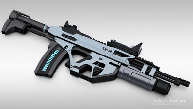 MASER rifle