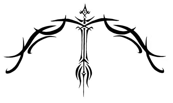 File:Sagittarius Tribal Tattoo by Sybil.jpg