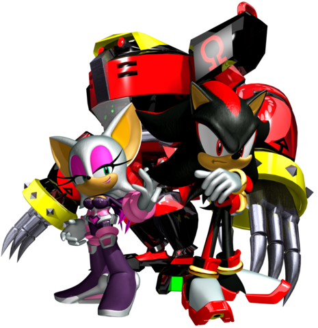 File:Sonic Heroes Artwork - Team Dark.png