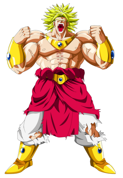 LSSJ Broly - DBZ Movie -10