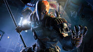 Deathstroke wall