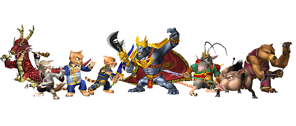 File:Characters (Legend of Kay).png