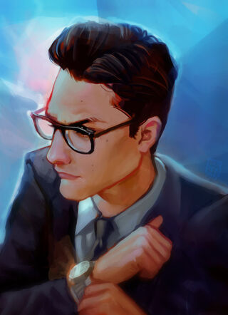 Commission secret agent man by eponagirl-d6zx8jd
