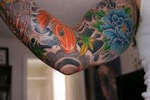 Style's Flower Tattoo