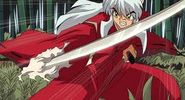 Inuyasha with his Tessaiga
