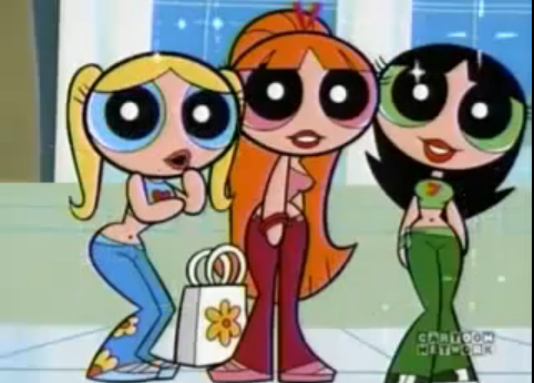The Powerpuff Girls as Sassy