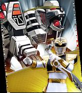 White Tigerzord Megazord Madness