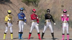 Goseiger in Super Hero Taisen