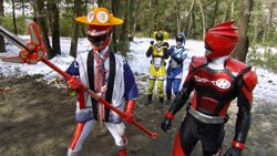 BoukenRed and Akibarangers