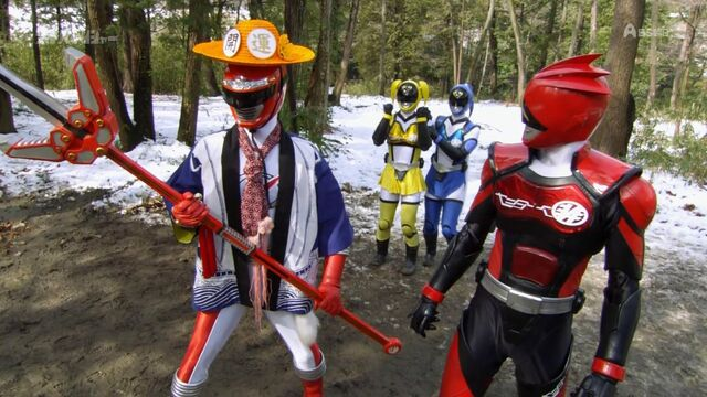 File:BoukenRed and Akibarangers.jpg