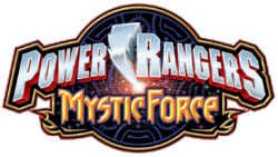 Power Rangers Mystic Force S14 logo 2006