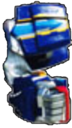 Q-Rex Megazord Left Arm fist