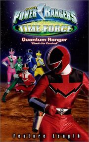 Power Rangers Time Force- Quantum Ranger Clash for Control