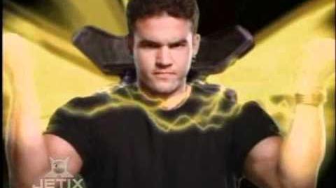 Power Rangers Zeo - Gold Ranger Morph