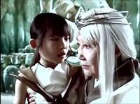 Young Tetomu and old Murasaki