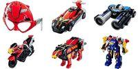 Super Sentai Happy Set Toys