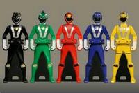 Go-onger Ranger Keys
