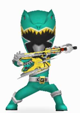 File:Green Dino Charge Ranger Armored On In Power Rangers Dash.jpg