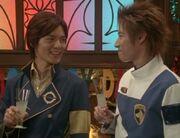 Hikaru & Tetsu (6th Rangers)