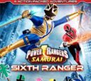 Power Rangers Samurai Volume 4: The Sixth Ranger