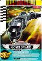 Gosei Snake card