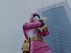 LR Pink Lightspeed Ranger