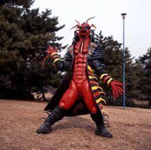 Centipede-monster
