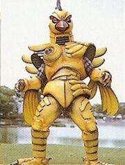Megaranger Canary Nezilar
