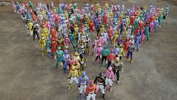 34 Super Sentai