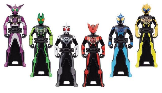 File:Kamen Rider OOO Ranger Keys.jpg