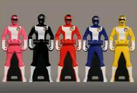 Turboranger Ranger Keys