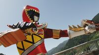 Kyoryu Red (Deinosgrander)