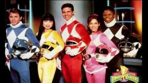 Power Rangers - History Mighty Morphin Powers