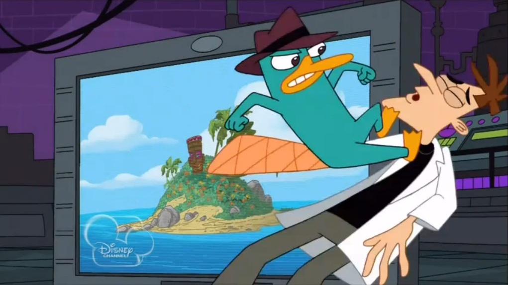 doofenshmirtz and perry relationship with god