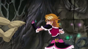 Cure Black Hits a Puppet