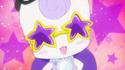 Glasan wearing star-shaped shade