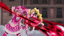 Melody and Peach Deflecting King Selfness Attacks