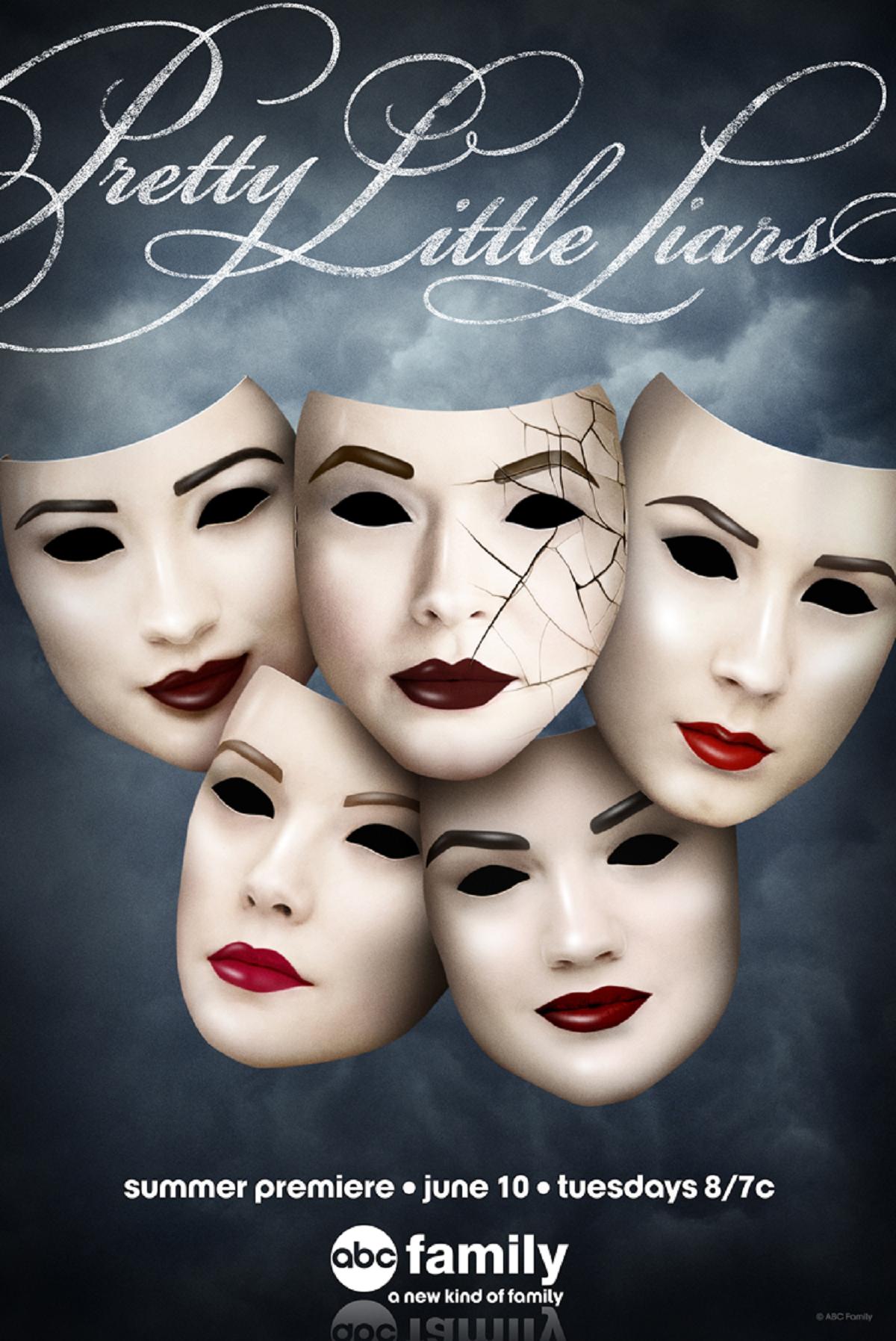 Pretty Little Liars Temporada 5  1080p  Dual Inglés – Latino