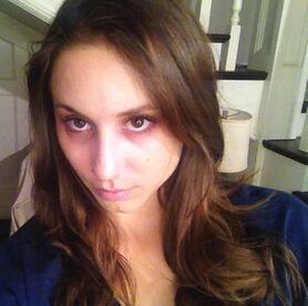 Spencer looking her worst