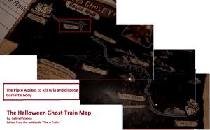 Halloween Ghost Train Map