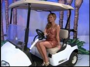 Amber Lancaster on Golf Cart-3