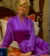 Teri Harrison in Satin Sleepwear-33