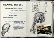 Future predator factfile