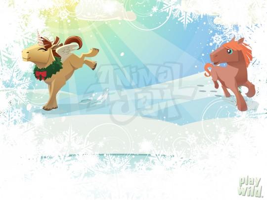 Image horse background princess - Animal jam desktop backgrounds ...