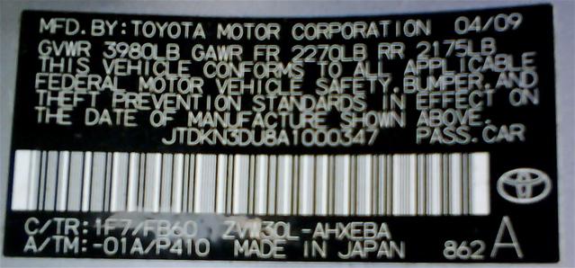 Label 050